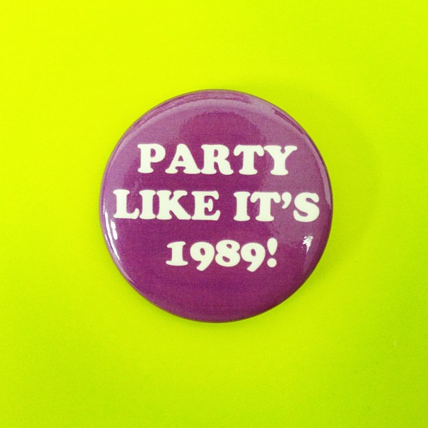 pary like it's 1989